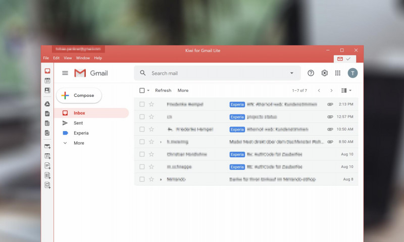 How to use Gmail as a standalone application